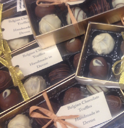boxes of truffles